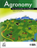Agronomy for Sustainable Development, Agronomy Cover page